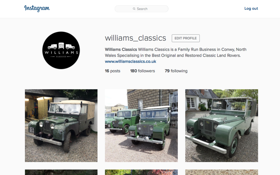 Take a Look at Our New Instagram Account