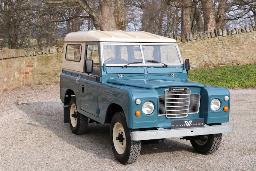 land rover series 3 88 immaculate condition kux556w williams classics. Black Bedroom Furniture Sets. Home Design Ideas