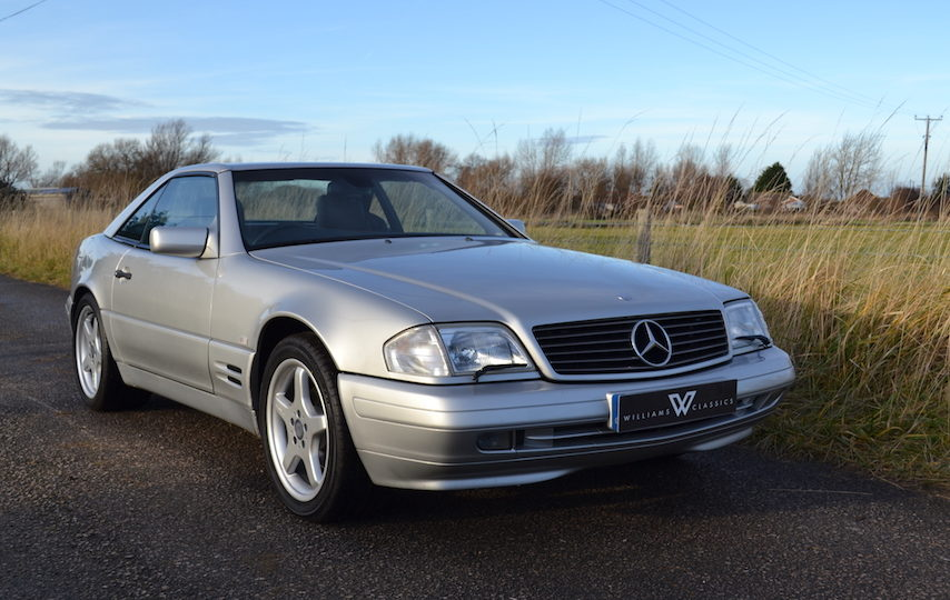Mercedes-Benz SL 320 R129 Auto Silver 3 Previous Owners