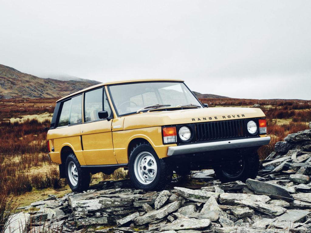 Jaguar Land Rover to Restore Classic Range Rovers
