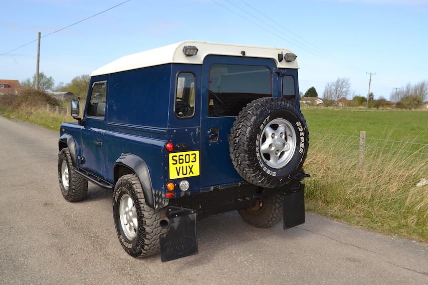 Land Rover Defender 90 Hardtop 2 5 Td5 S603 Vux
