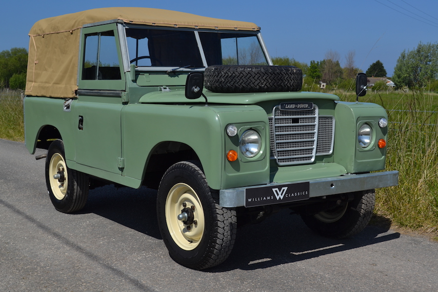 Land Rover Series 3 88 Quot Softtop 1980 Pastel Green Bcx672v