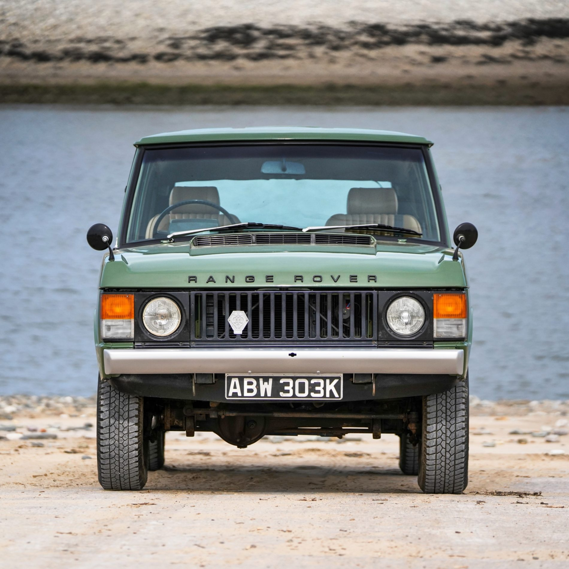 Land Rover Range Rover Suffix A Lincoln Green 1972 (ABW